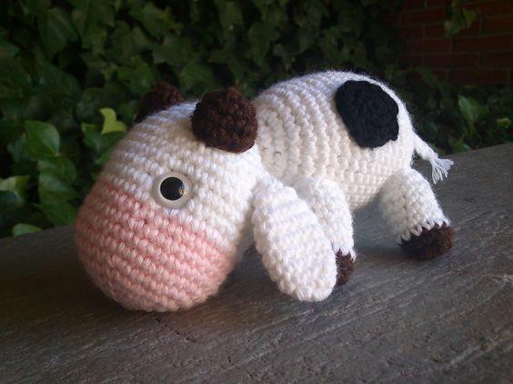 Amigurumi Vaca : Vaquita lanasyovillos amigurumi vaca mis amigurumis