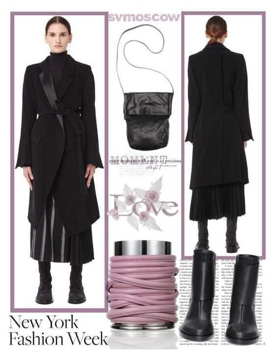 """svmoscow"" by k-lole ❤ liked on Polyvore featuring Ann Demeulemeester"