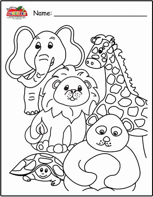 Animals Coloring Book Pdf Luxury Coloring Pages Animals Alligator Coloring Page Alligator