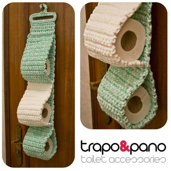 Accesorios De Baño A Crochet:Trapillo and Baños on Pinterest