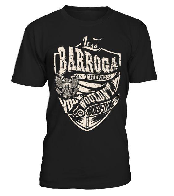 It's a BARROGA Thing