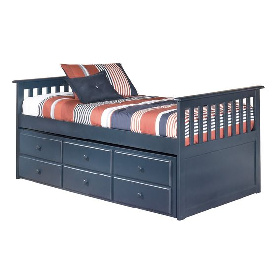 signature design by ashley b103 83 leo twin bed with drawer trundle home furniture ashley leo twin bedroom set