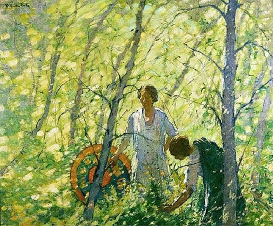 American Impressionism | Gertrude Fiske (1878-1961) American Impressionist Painter ~ Blog of an ...