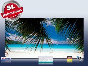 Infrarot Bildheizung 700 Watt Rahmenlos Karibik