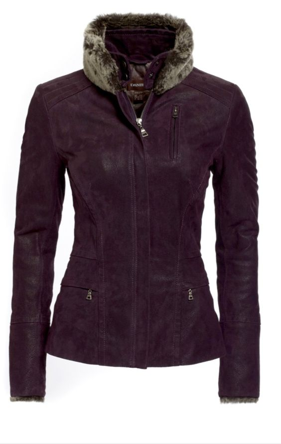 Love this deep purple jacket!!    http://www.danier.com/leather-women-jackets-blazers-104060023-P6705.aspx
