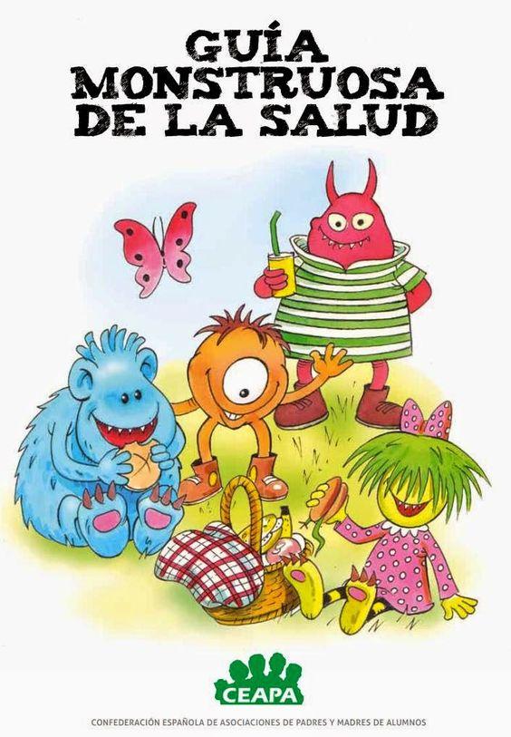 Actividades Para Educacion Infantil Guia Monstruosa De La Salud Habitos Saludables Para Ninos Vida Saludable Para Ninos Educacion Infantil