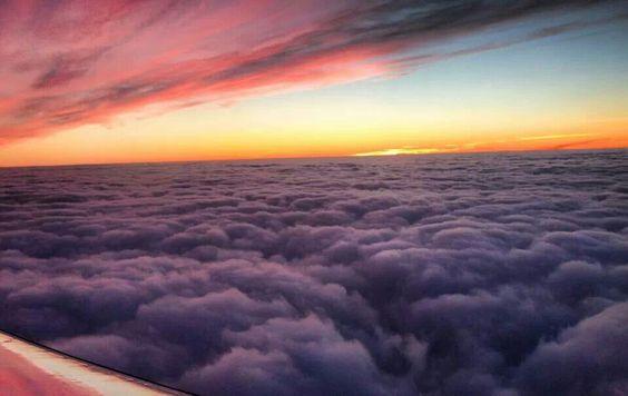 Über  den Wolken  <3