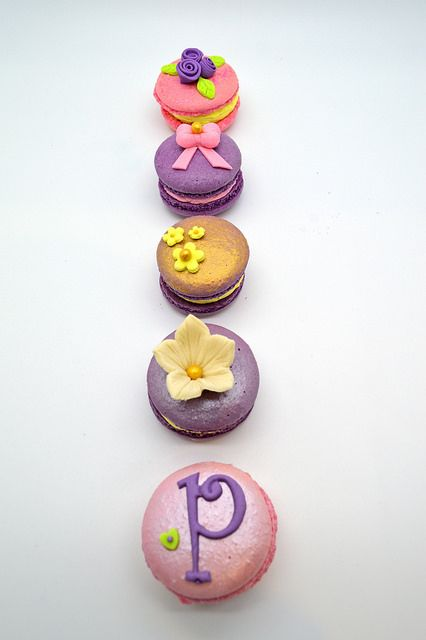 Macarons decorados