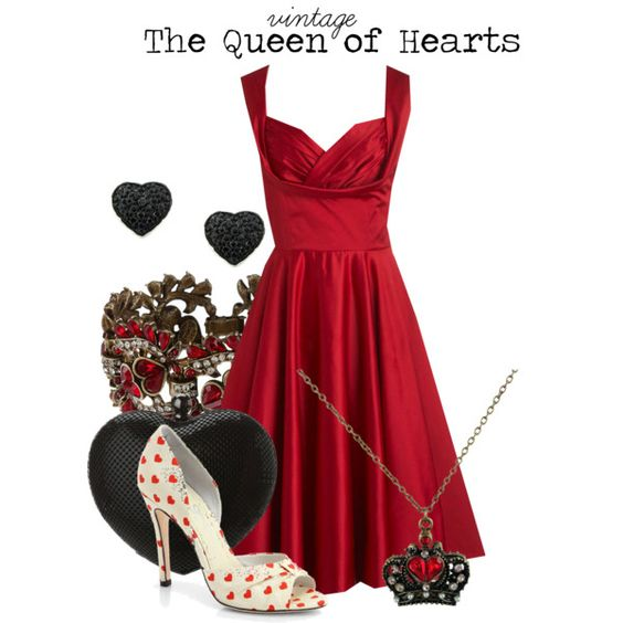 """The Queen of Hearts"" by charlizard on Polyvore"