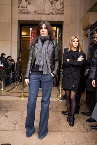 Emmanuelle Alt - love this offduty look