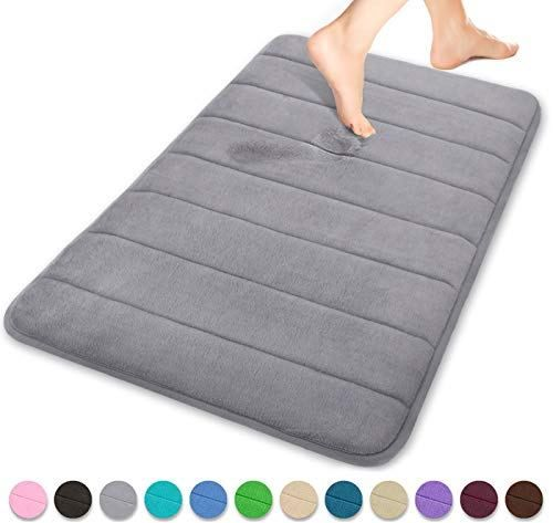 Yimobra Memory Foam Bath Mat Comfortable Soft Maximum Absorbent