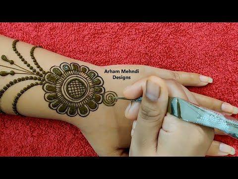 Arham Mehndi Designs Youtube Mehndi Designs Desain Henna Henna Tangan