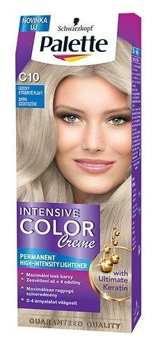 $12 Schwarzkopf  PALETTE C10 INTENSIVE HAIR COLOR CREAM  Arctic silver blonde   #Schwarzkopf