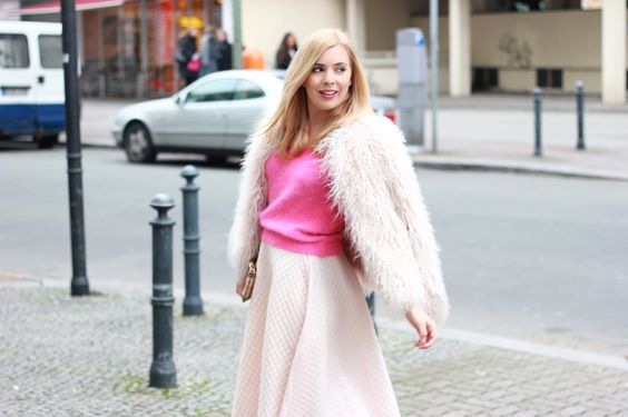 "MBFWB Third Look ""Same same but different: Pink Skirt"" 