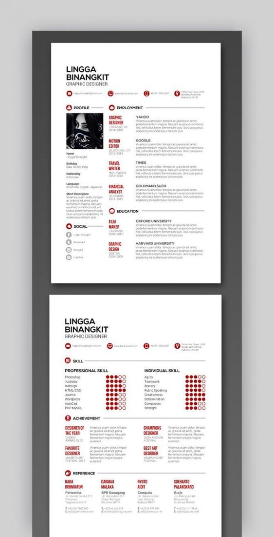 Indesign Resume Template Reddit Resume 2 Getjobb Indesign Resume Template Resume Template Resume Template Free