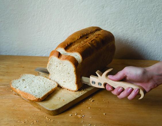 Gabriella Douglas's 'Utens-tools' - Bread Saw