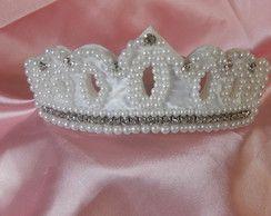 Tiara Coroa de Pérolas Frete Grátis