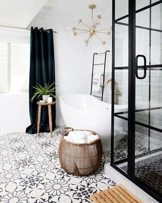34 Fabulous Modern Master Bathroom Design Ideas
