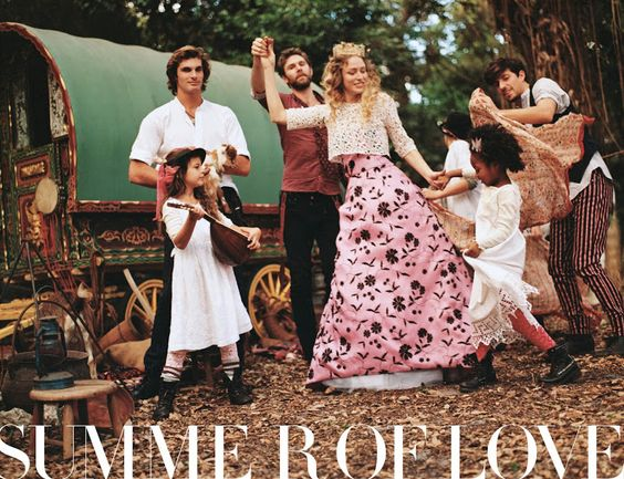 Fashiontography: Summer of Love by Bruce Weber