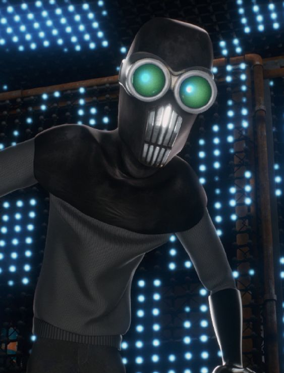 The Screenslaver is the secondary antagonist of Disney Pixar's Incredibles 2. He is a mysterious supervillain who uses hypnotism to manipulate people from a distance. He dresses in black and wears a mask with huge glowing goggles. In truth, he is a pizza boy from Pizza Planet that Evelyn Deavor...