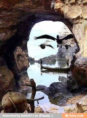 Perfectly Timed Exciting Pictures Natural Face Painted by Nature