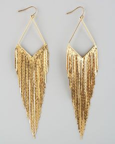 Y19AB Jules Smith Festive Fringe Earrings