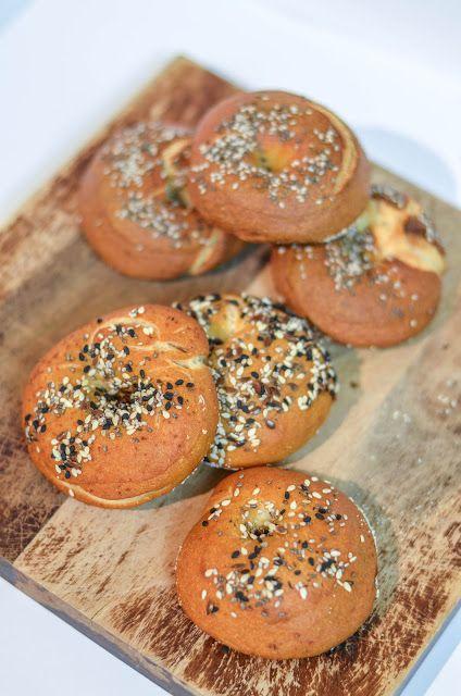 100% Sourdough Bagels | The moonblush Baker
