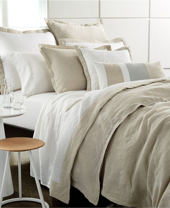 Reviews On Hotel Collection Bedding: Hotel Collection Linen Natural Quilted Standard Sham