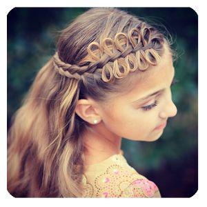Terrific Bow Braid Cute Girls Hairstyles And Girl Hairstyles On Pinterest Short Hairstyles For Black Women Fulllsitofus