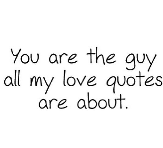 you are <3