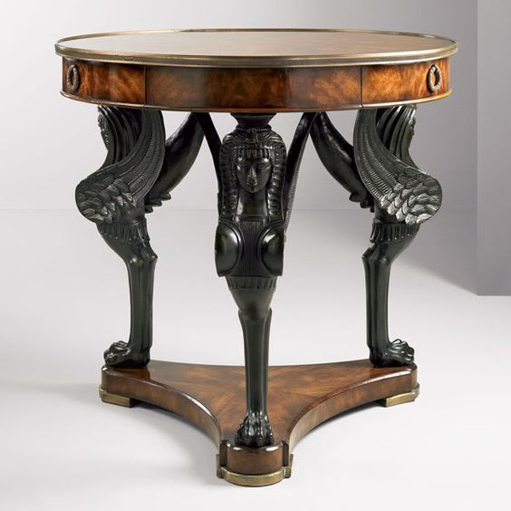 Egyptian Revival Table 19th Century Design Furniture Pinterest Tent Tables And End Tables