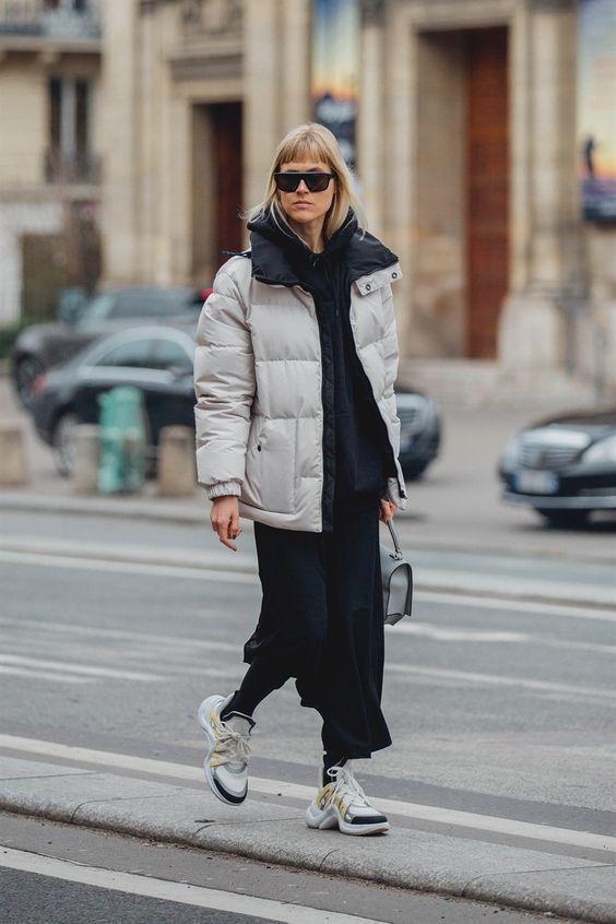Как носить пуховик теплой осенью 2018 – 7sisters.ru – все, что хочет знать современная женщина!