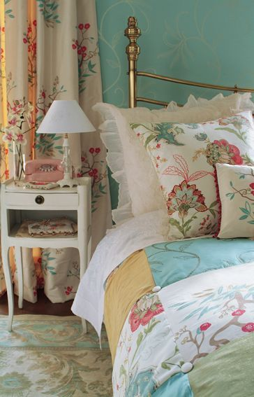 Vintage bedroom!