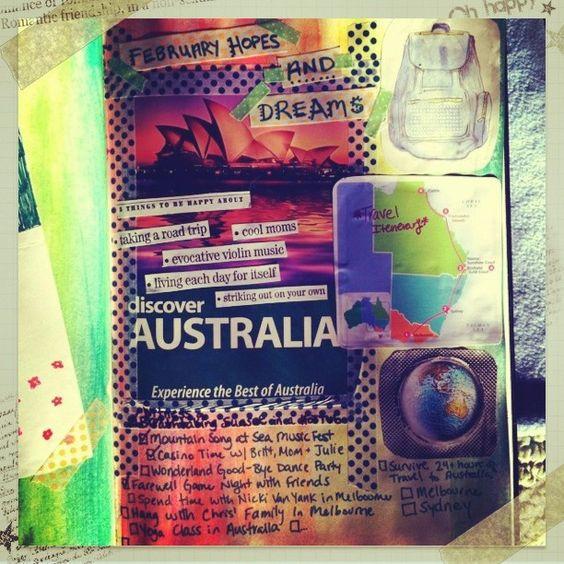 February 2013 Hopes & Dreams. Mountain Song at Sea & Australia. wow.