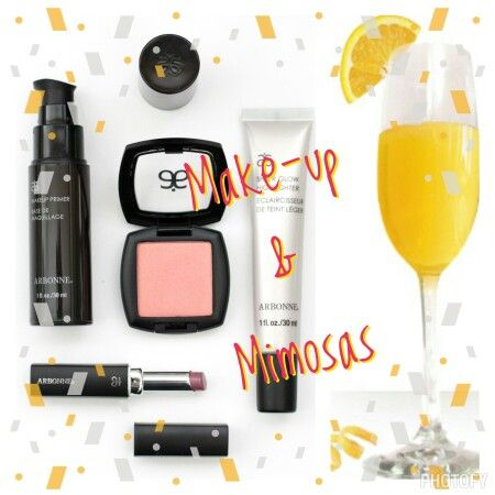 Make-up and Mimosas! • Preferred Clients receive 20%-50% off every item! • Join…