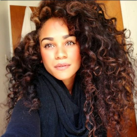 Tremendous Long Curly Hair Long Curly And Curly Hair On Pinterest Hairstyles For Women Draintrainus