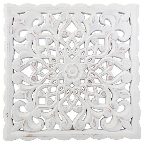 Deco scherm ornament hout div fotolijsten muurdecoratie decoratie action - Deco muurdecoratie ...