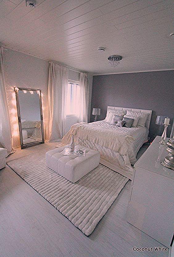 Elegant Gray Bedroom Room Decor Bedroom Bedroom Elegant Gray In 2020 White Rooms Grey Room Accent Walls In Living Room
