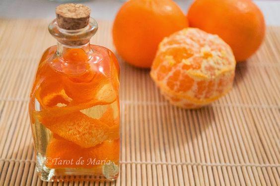 TAROT DE MARÍA, por teléfono fijo: Cómo preparar Aceite de Mandarina