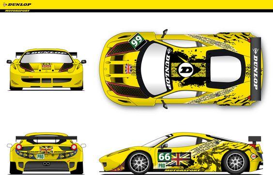 Diseño para Dunlop Art Car por fab27