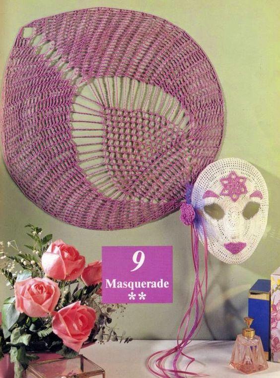 crochelinhasagulhas: Mandala de abacaxi em crochê