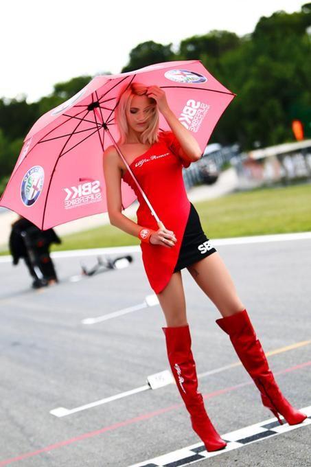 Paddock Girls SBK Brno