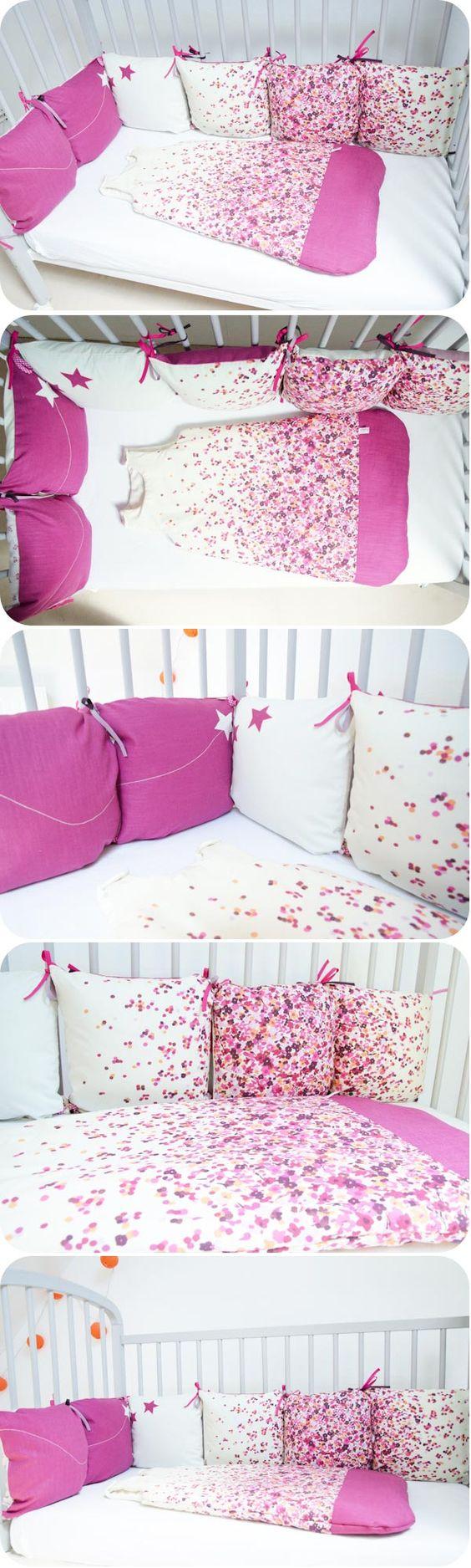 turbulette tour lit coussins baby pinterest roses et b b. Black Bedroom Furniture Sets. Home Design Ideas