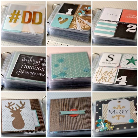 Instagram | december daily ideas: The Scrappy Mermaid: December Daily 2014 [Foundation Pages]