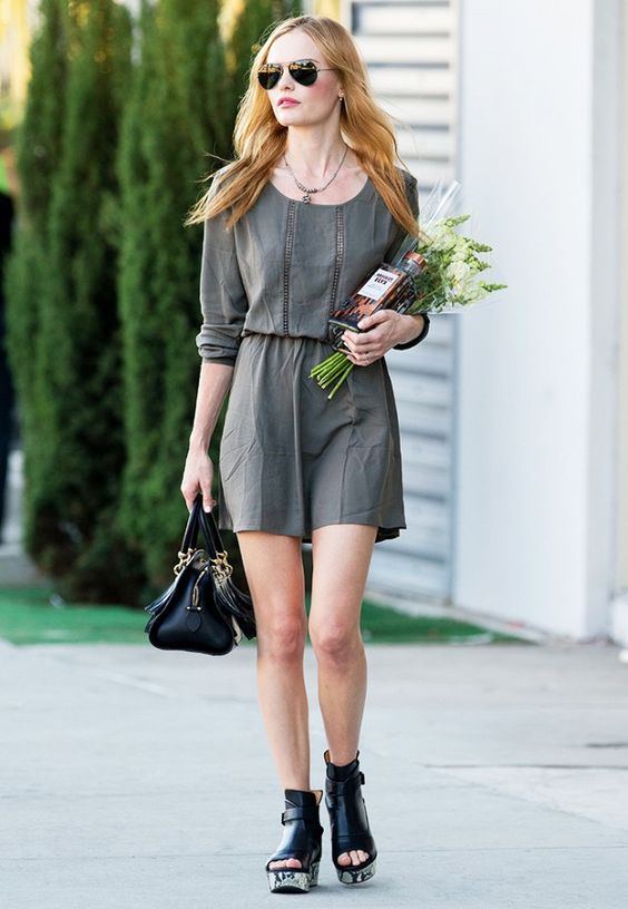 4 Shoe Trends to Steal From Kate Bosworth, Solange Knowles & More via @WhoWhatWear
