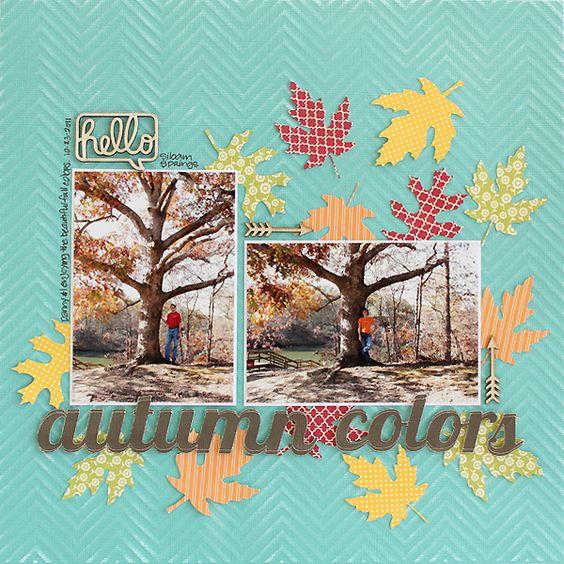 Autumn+Colors - Scrapbook.com