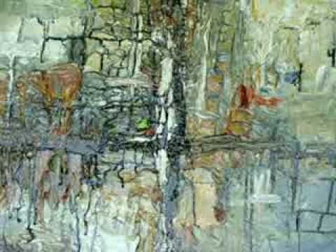 Acrylic Abstrect Palette Knife Demonstration by MILIE GIFT SMITH - YouTube
