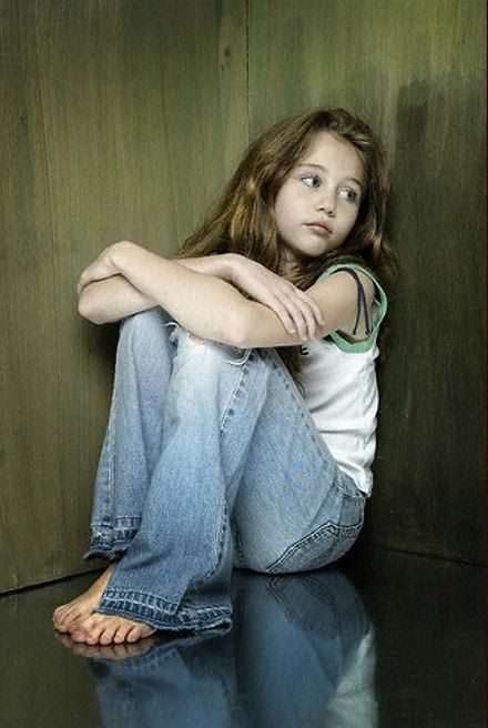 Something miley cyrus as a little girl