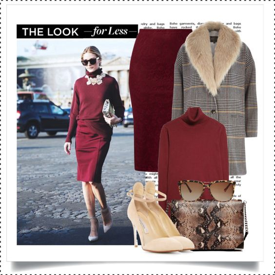 """""""The Look for Less: Olivia Palermo Office Look"""" by alaria on Polyvore"""