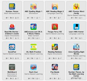 Great post about apps for Kindergarten.